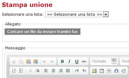 Personalizzare Fax